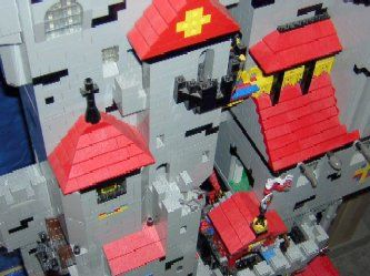 Hoernersburg Lego Castle Keep